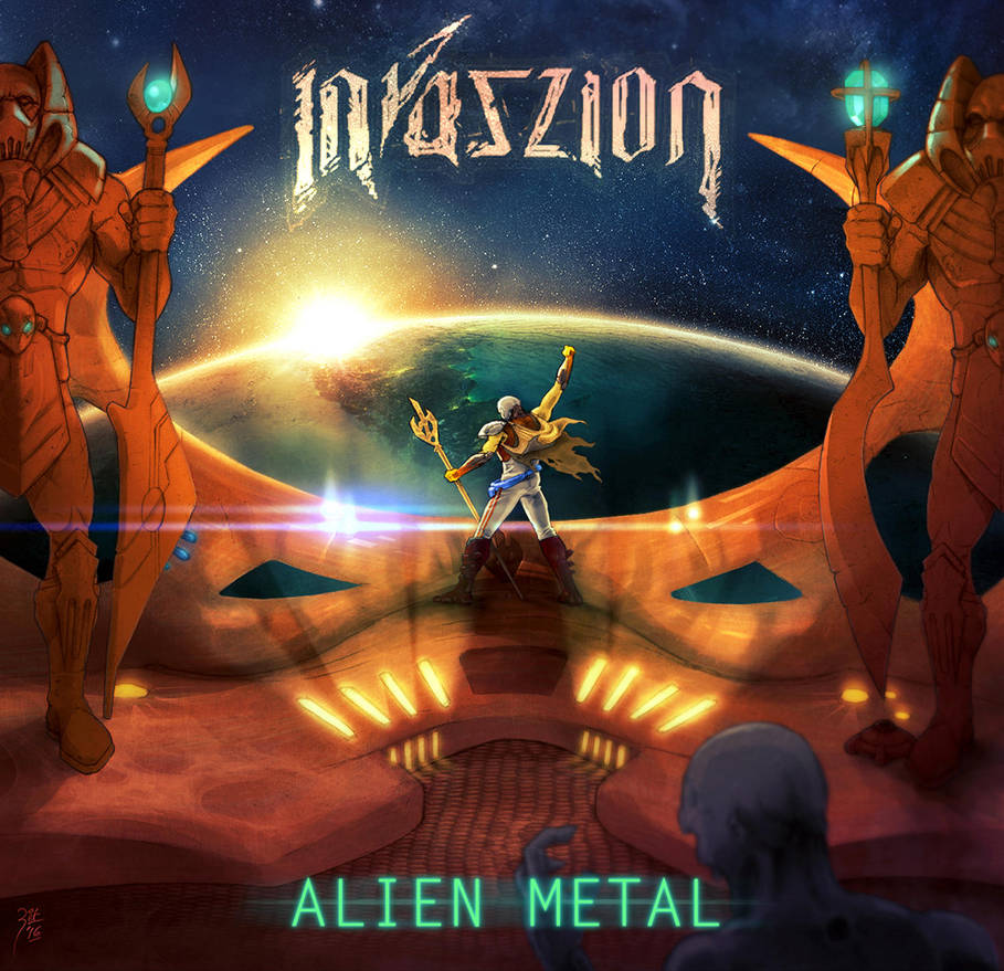 (2016) Invaszion - Alien Metal Cover by FAB-dark