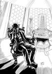 The Seventh Doctor (2012) Inks by SteveAndrew