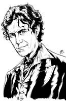 The Eighth Doctor 1 (2015) Inks by SteveAndrew
