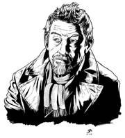 The War Doctor 1 (2016) Inks by SteveAndrew