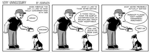 Cat Conversations by SteveAndrew