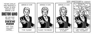 Capaldi Floof by SteveAndrew
