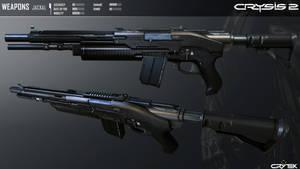 Crysis 2 Jackal Semi-Auto Shotgun by Scarlighter