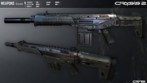 Crysis 2 Mk24 Grendel Assault Rifle by Scarlighter