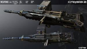 Crysis 2 Portable Heavy Machine Gun by Scarlighter