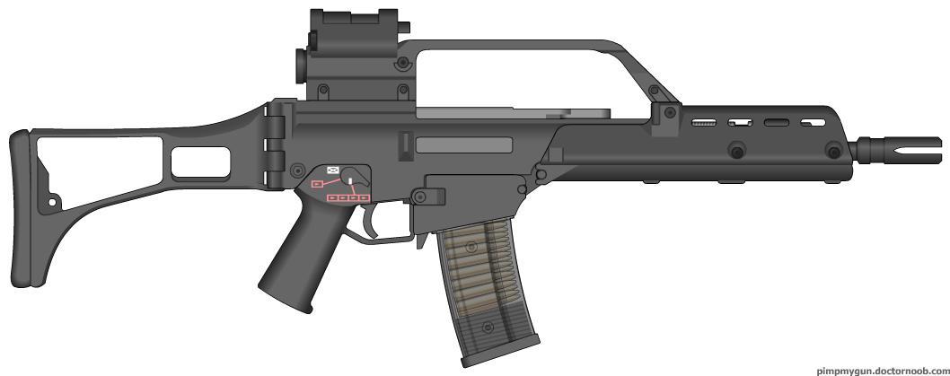 HK G36K Carbine by Scarlighter