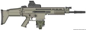 Herstal SCAR-H Modern Warfare 2 v2.0 (Holo Sight) by Scarlighter