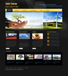 Solar Energy Template Design by webcreater
