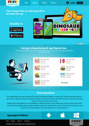 Apa Magician Website design by webcreater
