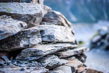 Stone wall by samshadows