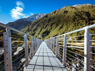 Bridge Into the Valley by samshadows