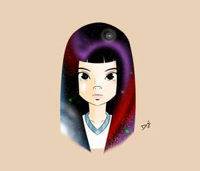 Espacial Girl by SketchDai