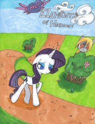 MLP: Elements of Harmony #1 Cover 2 by SoniciatheHedgehog
