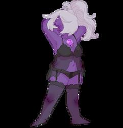 Sexy Purple Chik by Pois0nJoy