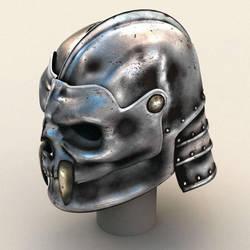 skullhelmet by mmarti
