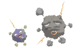 Koffing and Weezing from Alola by Guypopcorn