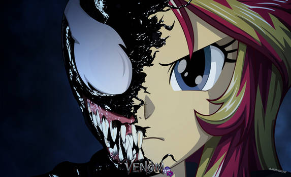 Sunset Shimmer Venom by ngrycritic