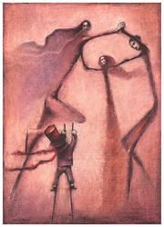 little juggler by Slawekgruca