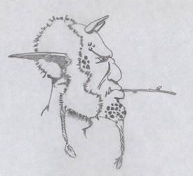 Old man on Fantasy by MagoRojo
