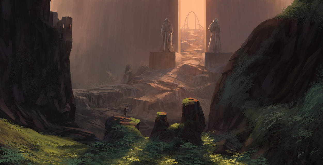 The gate by MiroJohannes