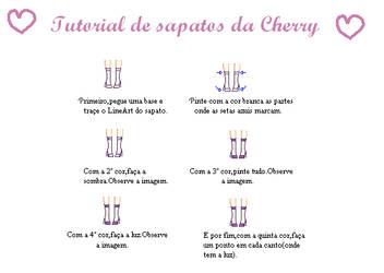 Tutorial de sapato by Cherry-Cherrise