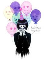 Misery-chan - Happy Birthday! by SketchMeNot-Art