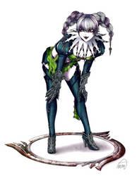 Tira - Dark Daughter of Janus by SketchMeNot-Art