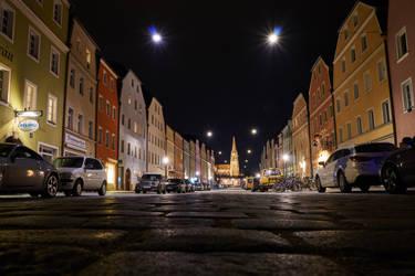 Stadtamhof - Regensburg by coolbrain