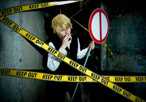 DRRR-Shizuo by LALAax