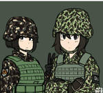 Just another Philippine Soldier by MP6-Serza