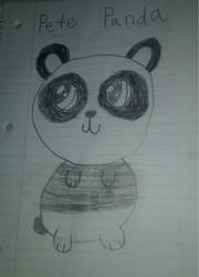 School Doodles 12: Pete Panda by SonicTAlicorn