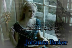 Johanna Barker Wallpaper by CrimsonAndClover95