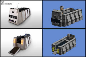 Star Wars Hoth and Yavin Carriers 7 by HougeSandwichArt