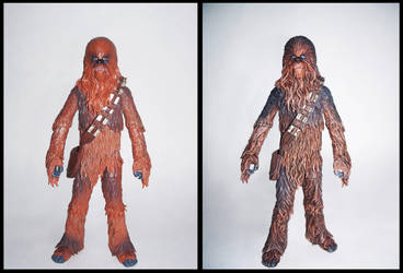 Custom Black Series Chewbacca by HougeSandwichArt