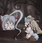 Creepy Three by Miosita