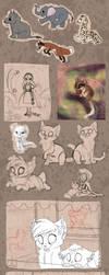 Sketchdump by Miosita