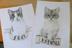 Cat Badge by Miosita