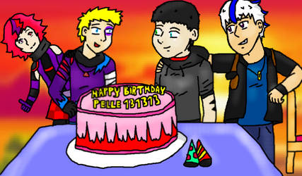 haha Better late than never, Happy birthday!! by shinkenmaster