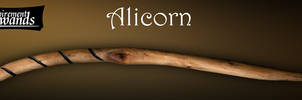 Alicorn (Handmade Harry Potter wand) by Inspirement