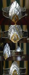 Aragorn's crown by larijone
