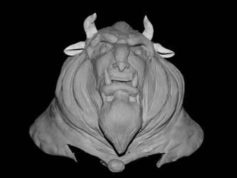 The Beast WIP by larijone