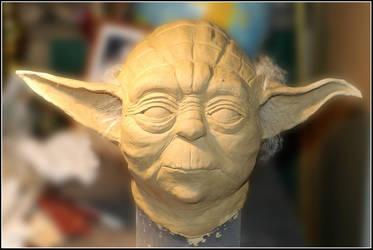 Yoda WIP by larijone