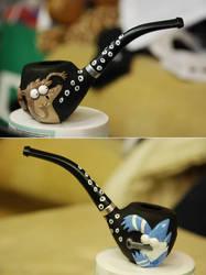 Regular show custom pipe by larijone