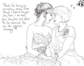 Touching Wedding Moment by Jenniandrews