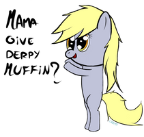 give derpy muffin by chibi95