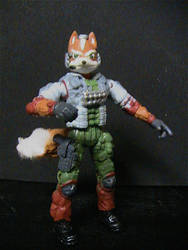 Star Fox Action Figure by DaveSchultz