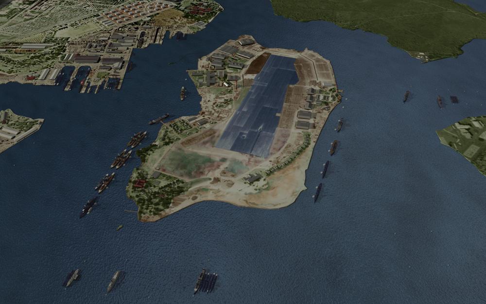 Pearl Harbor CG model by parkseiii