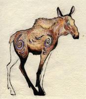 moose spirit by Wolfsjal