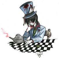 Mad Hatter Miroku??? by ghost-guy
