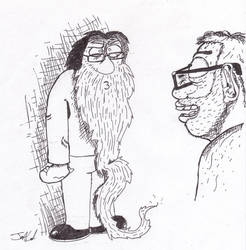 Kyles beard by theoddone